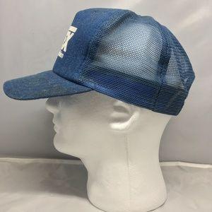 Vintage Entex Gas Trucker Mesh Denim Cap Hat
